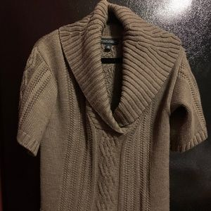 Banana Republic Brown Cable Knit Sweater